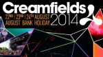 CREAMFIELDS 2014 Line-Up ANNOUNCED